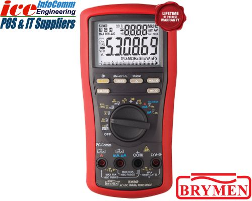 CABAC BRYMEN BM869 TRUE RMS HIGH PERFORMANCE Multimeter (DMM) - BM869